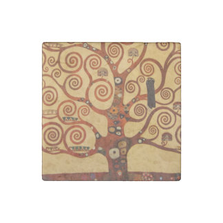 Tree of Life Stone Magnet