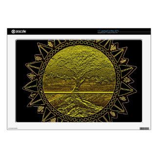 "Tree of Life Sun Salutation 17"" Laptop Decals"