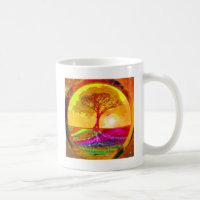 Tree of Life Sunrise Coffee Mug