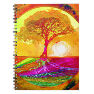 Tree of Life Sunrise Notebook