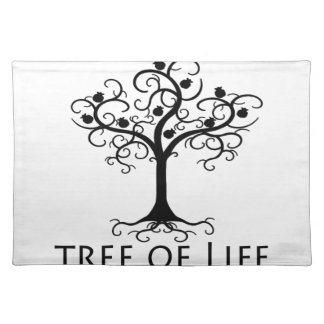 Tree of LIfe, Swirl Tree, Pomegranates Zazzle.png Placemat
