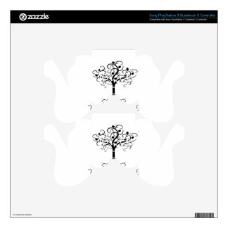 Tree of LIfe, Swirl Tree, Pomegranates Zazzle.png PS3 Controller Decal