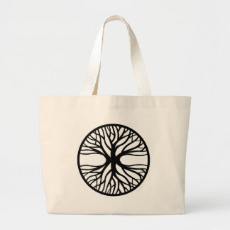 Tree Of Life Tattoo Tote Bags