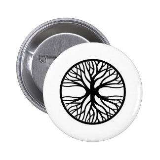 Tree Of Life Tattoo Pinback Button