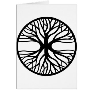 Tree Of Life Tattoo Card