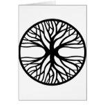 Tree Of Life Tattoo Greeting Card