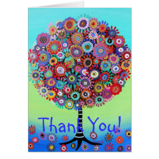 Tree of Life Thank You Card