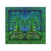 Tree of Life Thankfulness Canvas Print (<em>$117.90</em>)