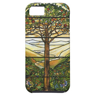 Tree of Life/Tiffany Stained Glass Window iPhone SE/5/5s Case