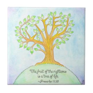 Tree of Life Tile / Trivet