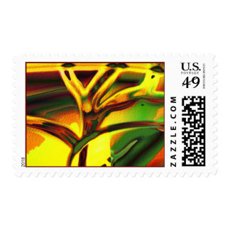 Tree of life trance postage stamp