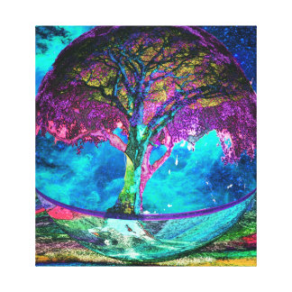 Tree of Life Truth Seeker Stretched Canvas Prints