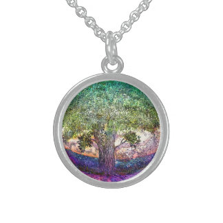 Tree of Life Truth Seeker Sterling Silver Necklace