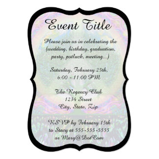 Tree of Life Unity and Peace 5x7 Paper Invitation Card