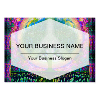 Tree of Life Unity and Peace Business Card Templates