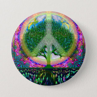 Tree of Life Unity and Peace Button