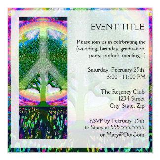 Tree of Life Unity and Peace Invitation