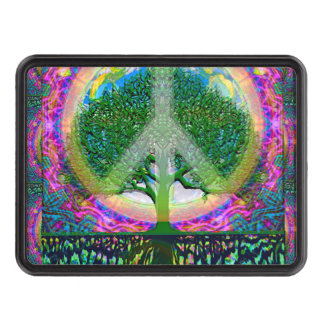 Tree of Life Unity and Peace Tow Hitch Cover