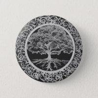 Tree of Life Vigor Pinback Button