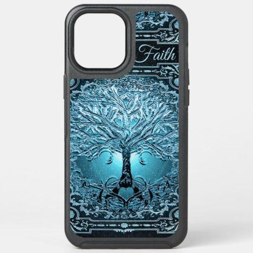 Tree of Life Vintage Blue Faith Otterbox Case Phone Case