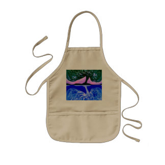 Tree of Life Waters Edge Kids' Apron