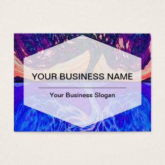 Tree of Life Water's Reflection f Business Card