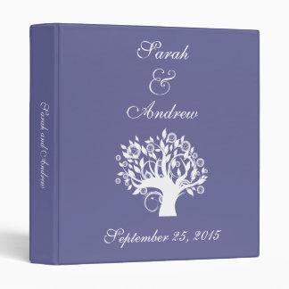 Tree of Life Wedding Photo Album Purple 669 Binder