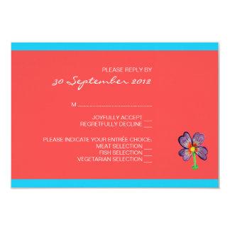 Tree of Life Wedding RSVP Card