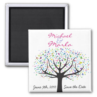 Tree of Life Wedding Save the Date Magnet