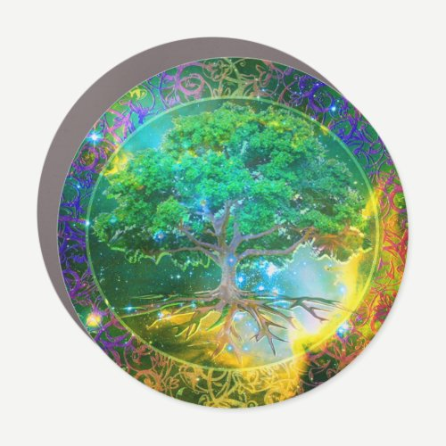 Tree of Life Wellness Car Magnet