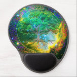 "Tree of Life Wellness Gel Mouse Pad<br><div class=""desc"">Tree of Life Wellness  - I created this piece in loving honor of God whom is my inspiration in all that I do in life. I hope you enjoy this work! Amelia Carrie</div>"