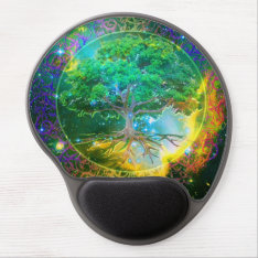 Tree Of Life Wellness Gel Mouse Pad at Zazzle