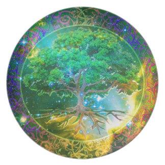 Tree of Life Wellness Plate