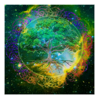 Tree of Life Wellness Poster