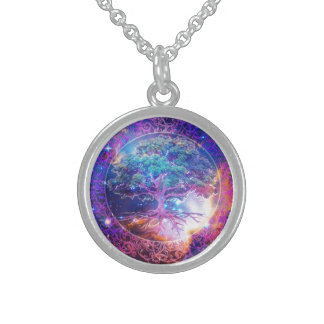 Tree of Life Wellness Sterling Silver Necklace