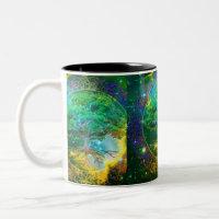 Tree of Life Wellness Two-Tone Coffee Mug