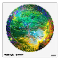 Tree of Life Wellness Wall Decal
