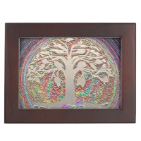 Tree of Life with Butterfly Memory Box