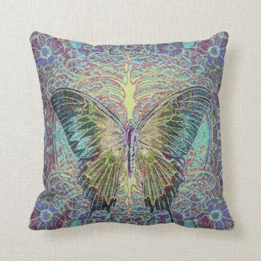 Tree of Life with Butterfly Pillows