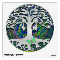 Tree of Life with Butterfly Wall Decal