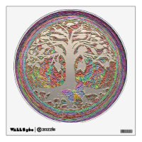 Tree of Life with Butterfly Wall Sticker