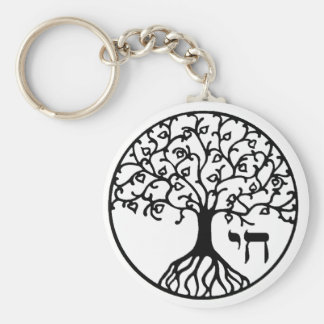 Tree of Life with CHAI Key Chain
