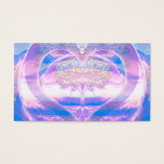 Tree of Life with Heart Business Card