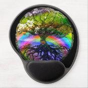Tree of Life with Rainbow Heart Gel Mouse Pad (<em>$13.70</em>)