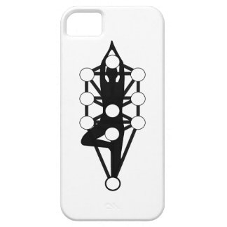 Tree of Life with Yoga Tree Pose iPhone SE/5/5s Case