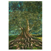 Tree of Life Wood Poster