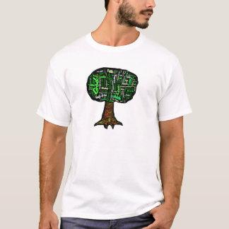 Tree of Life Word Cloud T-Shirt