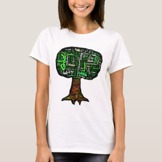 Tree of Life Word Cloud T-Shirt