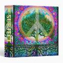 Tree of Life World Peace 3 Ring Binder (<em>$22.00</em>)