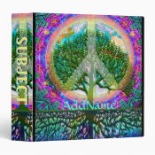 Tree of Life World Peace 3 Ring Binder (<em>$22.00</em>)